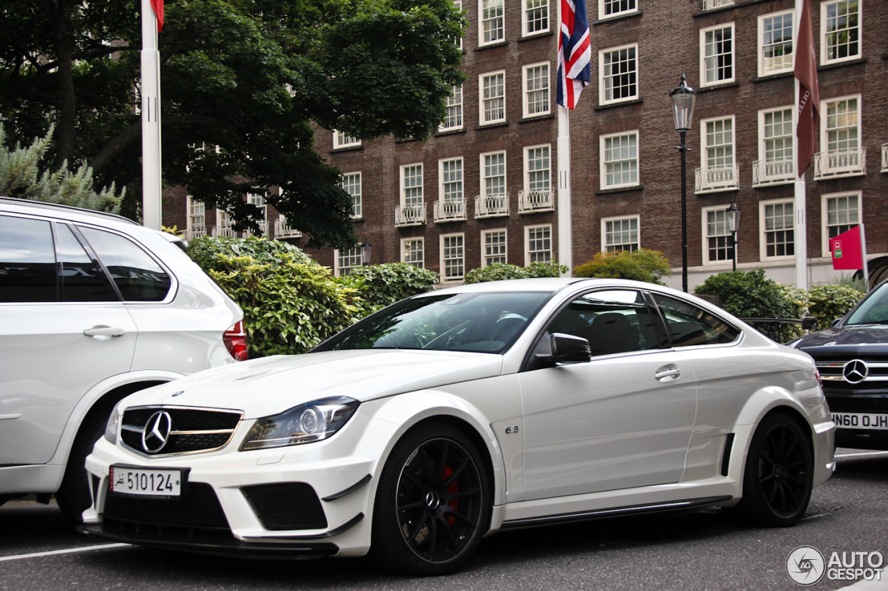 Mercedes Benz C 63 Amg Coup 233 Black Series 1 January 2013