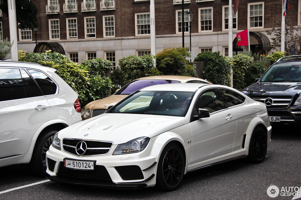 Mercedes benz c 63 amg coup black series 1 january 2013 for Mercedes benz 650i