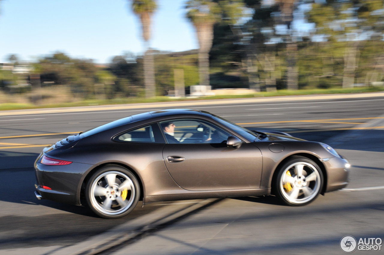 Porsche 991 Carrera S  4 January 2013  Autogespot
