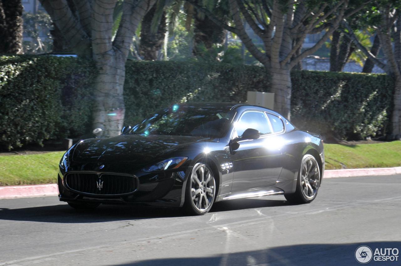 Maserati Granturismo Sport Black