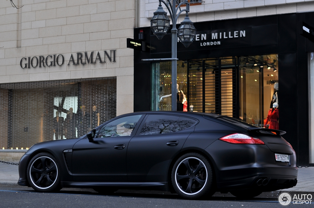 Porsche Panamera Turbo Techart 8 January 2013 Autogespot