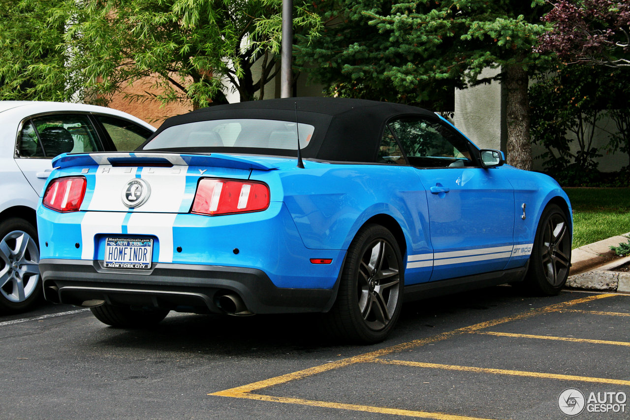 Ford Mustang Shelby GT500 Convertible 2010 - 11 January 2013 ...