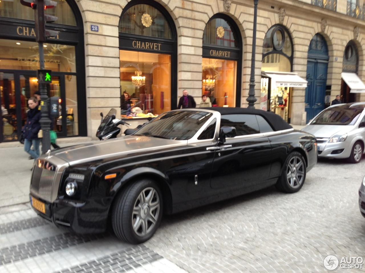 Rolls Royce Phantom Drophead Coup 233 14 January 2013