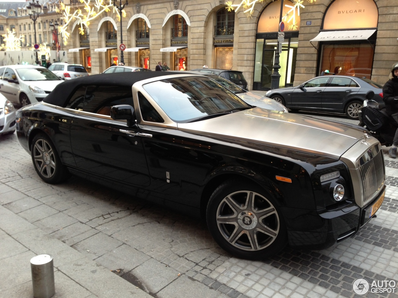 Rolls Royce Phantom Drophead Coup 233 14 January 2013