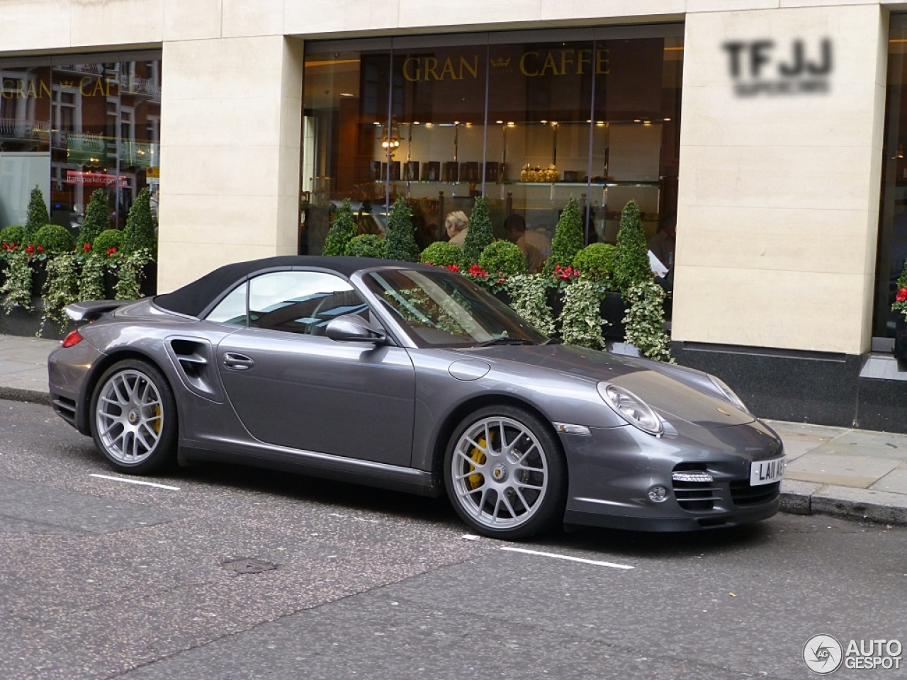 porsche 997 turbo s cabriolet 17 january 2013 autogespot. Black Bedroom Furniture Sets. Home Design Ideas