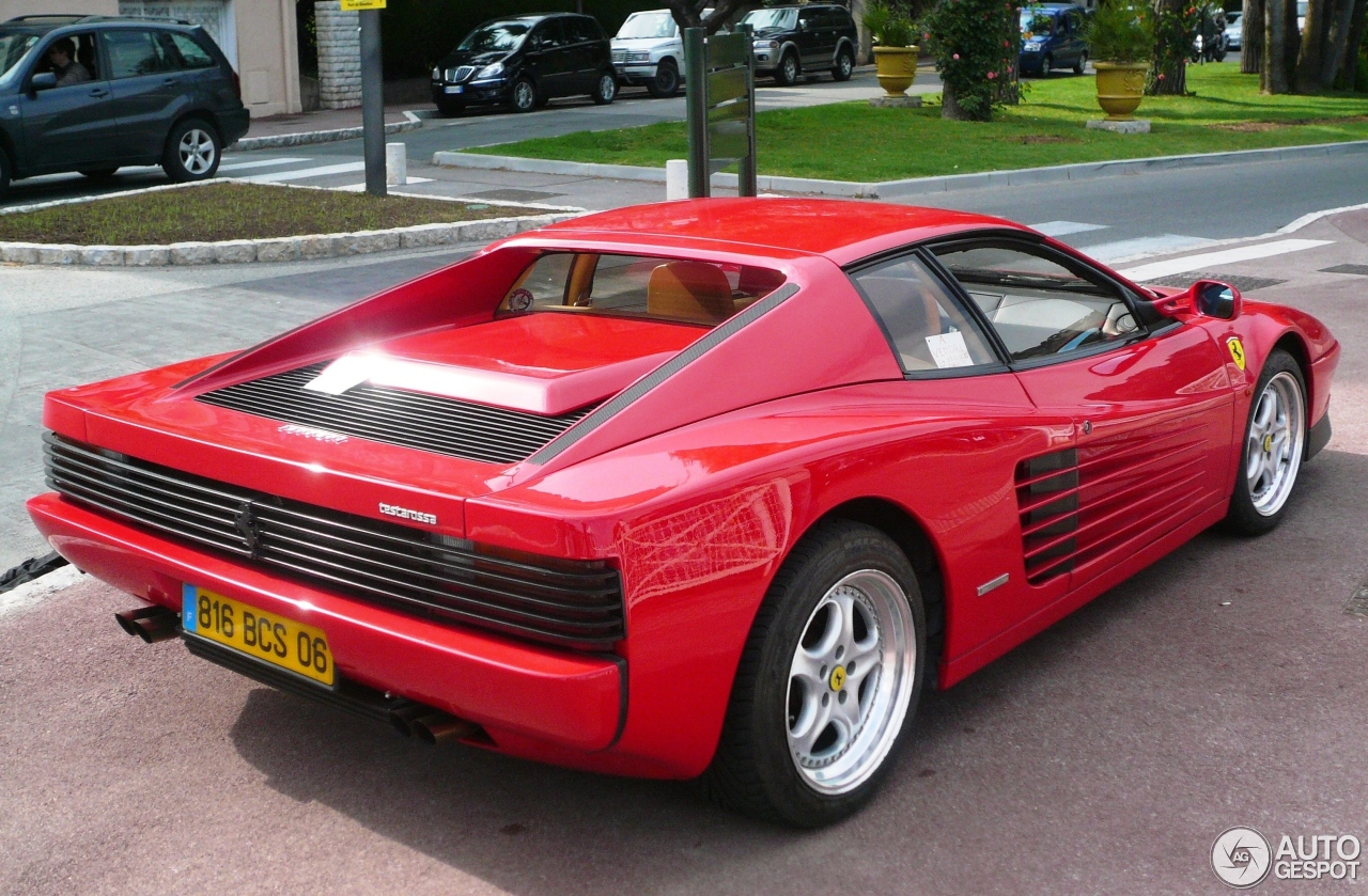 ferrari testarossa 20 janvier 2013 autogespot. Black Bedroom Furniture Sets. Home Design Ideas