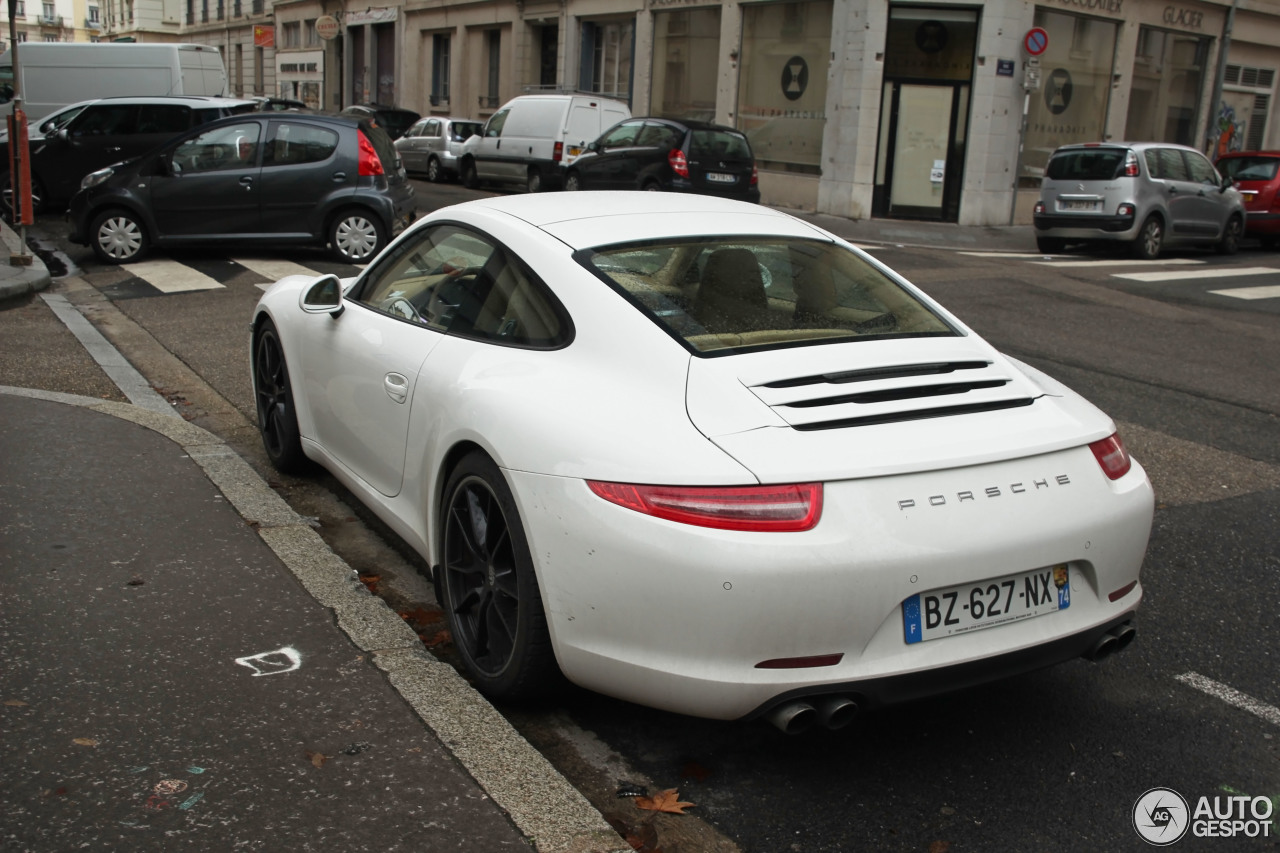 Porsche 991 Carrera S  21 January 2013  Autogespot