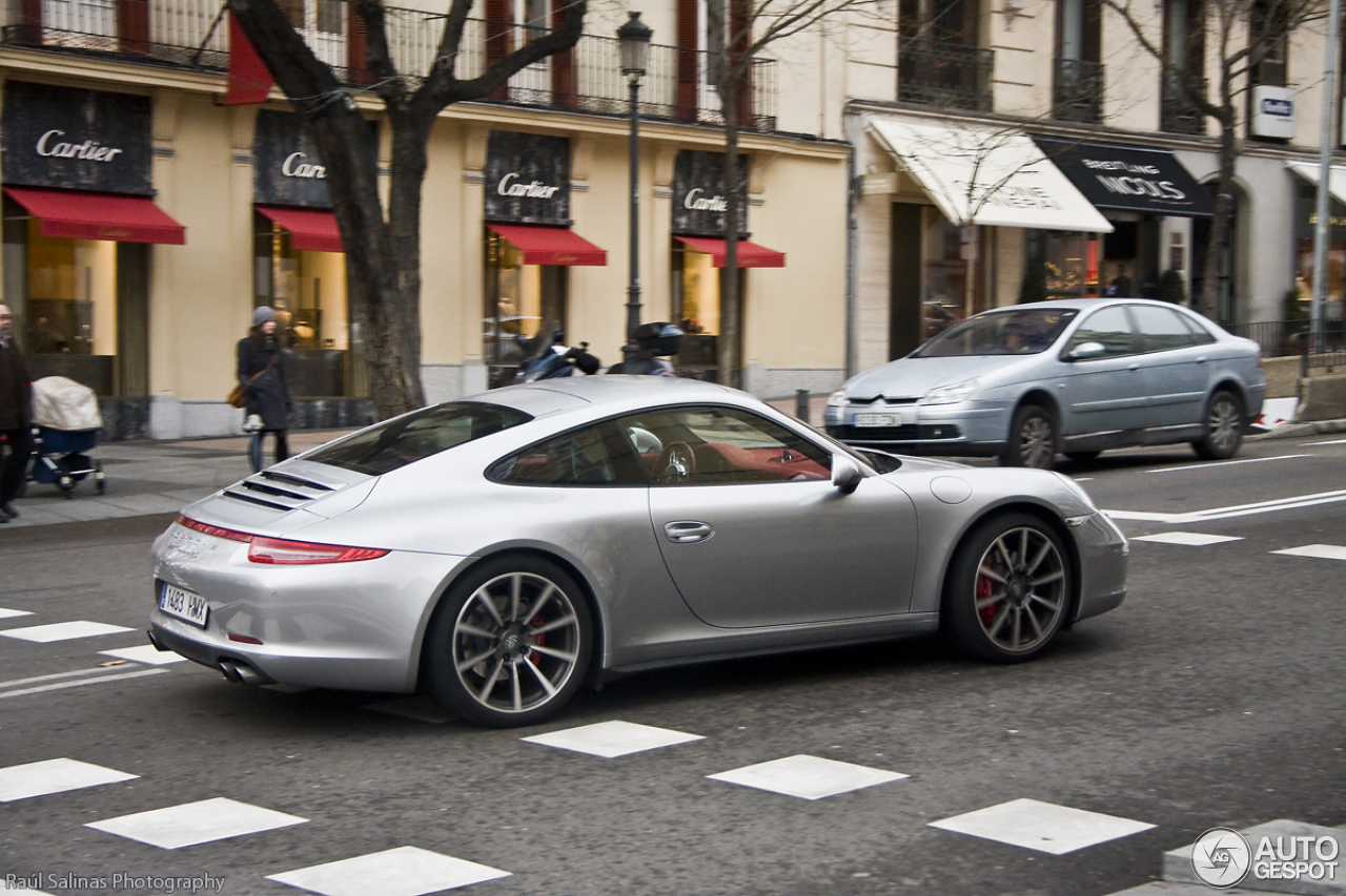 porsche 991 carrera 4s 24 january 2013 autogespot. Black Bedroom Furniture Sets. Home Design Ideas