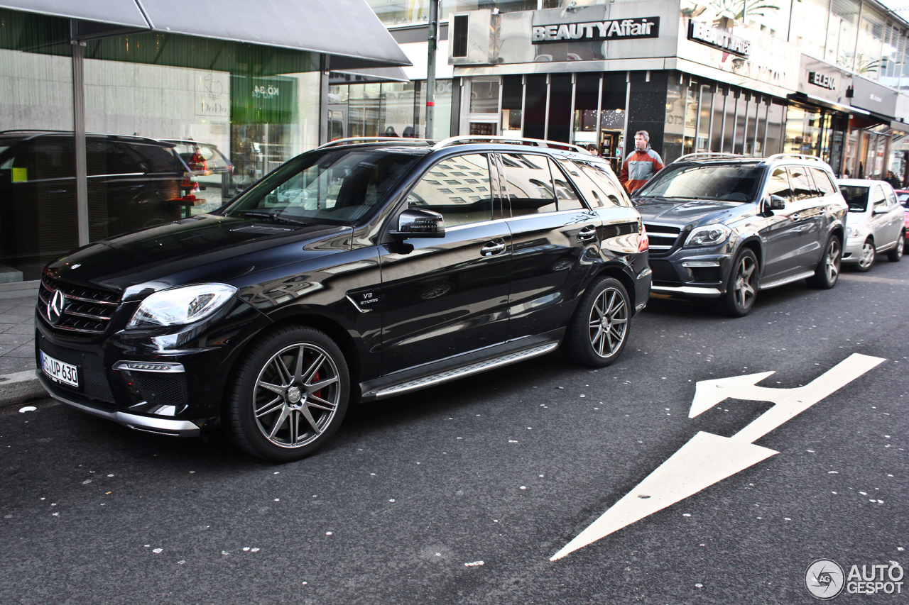 mercedes benz ml 63 amg w166 27 january 2013 autogespot. Black Bedroom Furniture Sets. Home Design Ideas