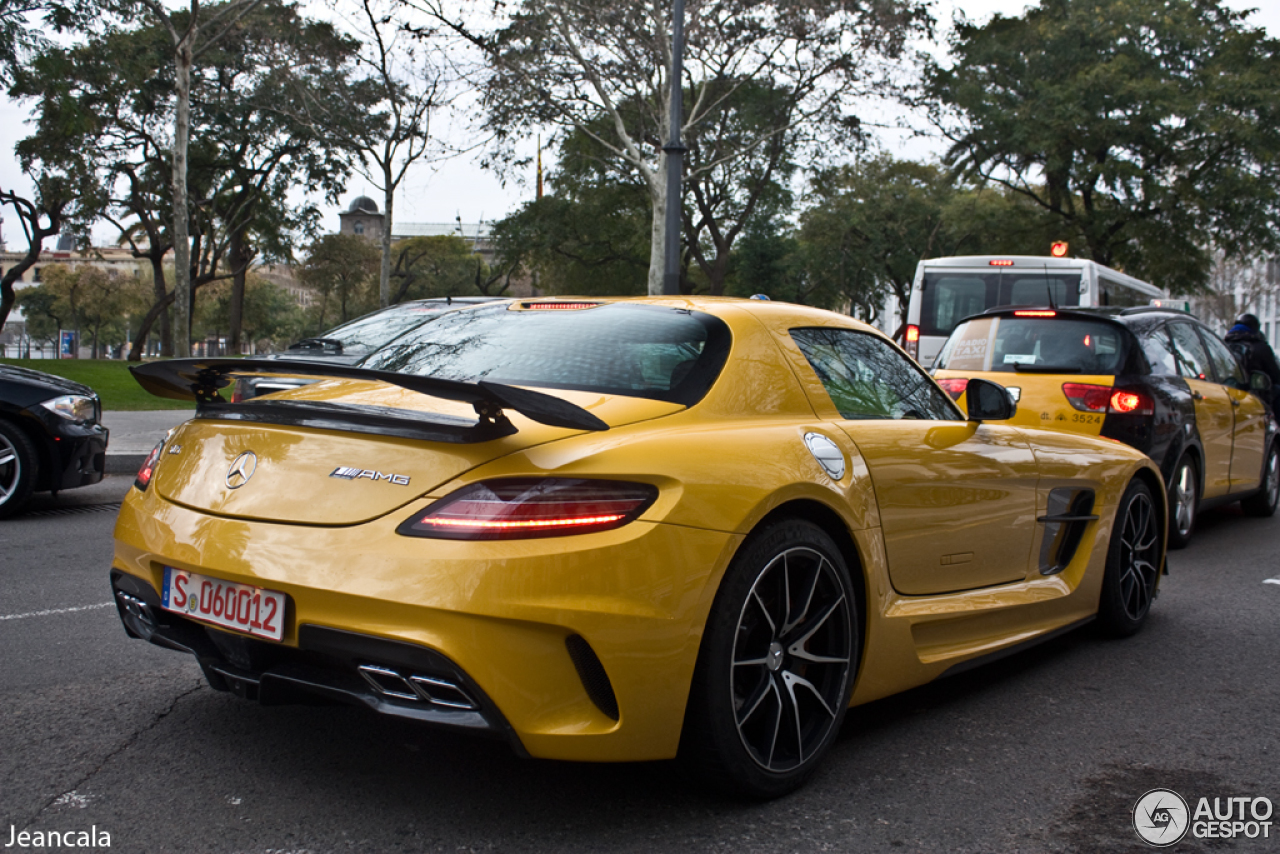 MercedesBenz SLS AMG Black Series  27 January 2013  Autogespot