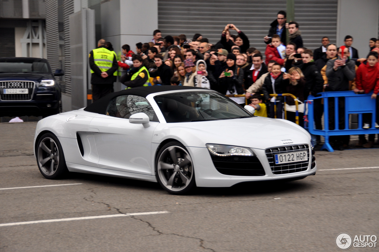 Audi R8 V10 Spyder 28 January 2013 Autogespot