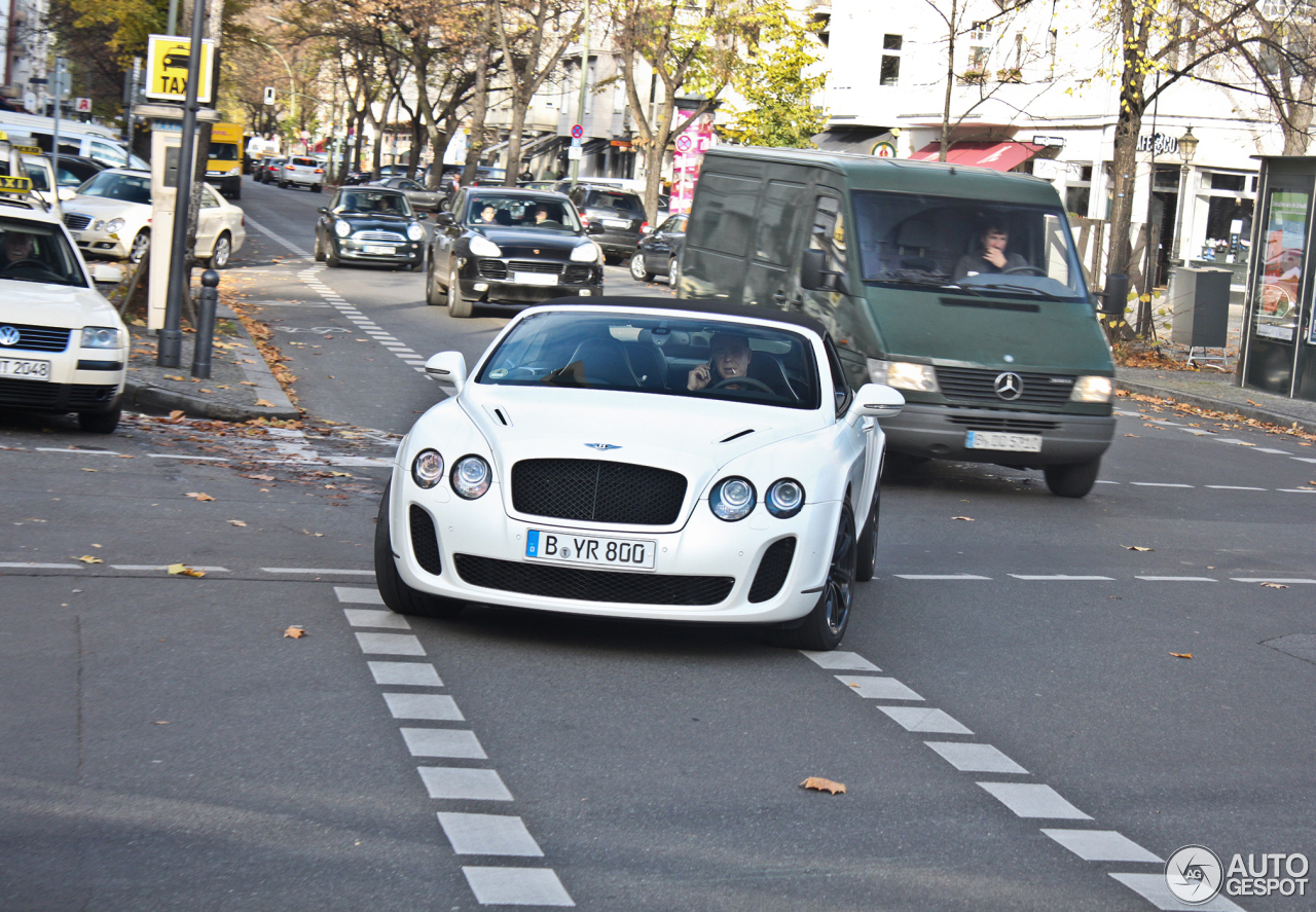 Bentley Continental Supersports Convertible 30 Januar