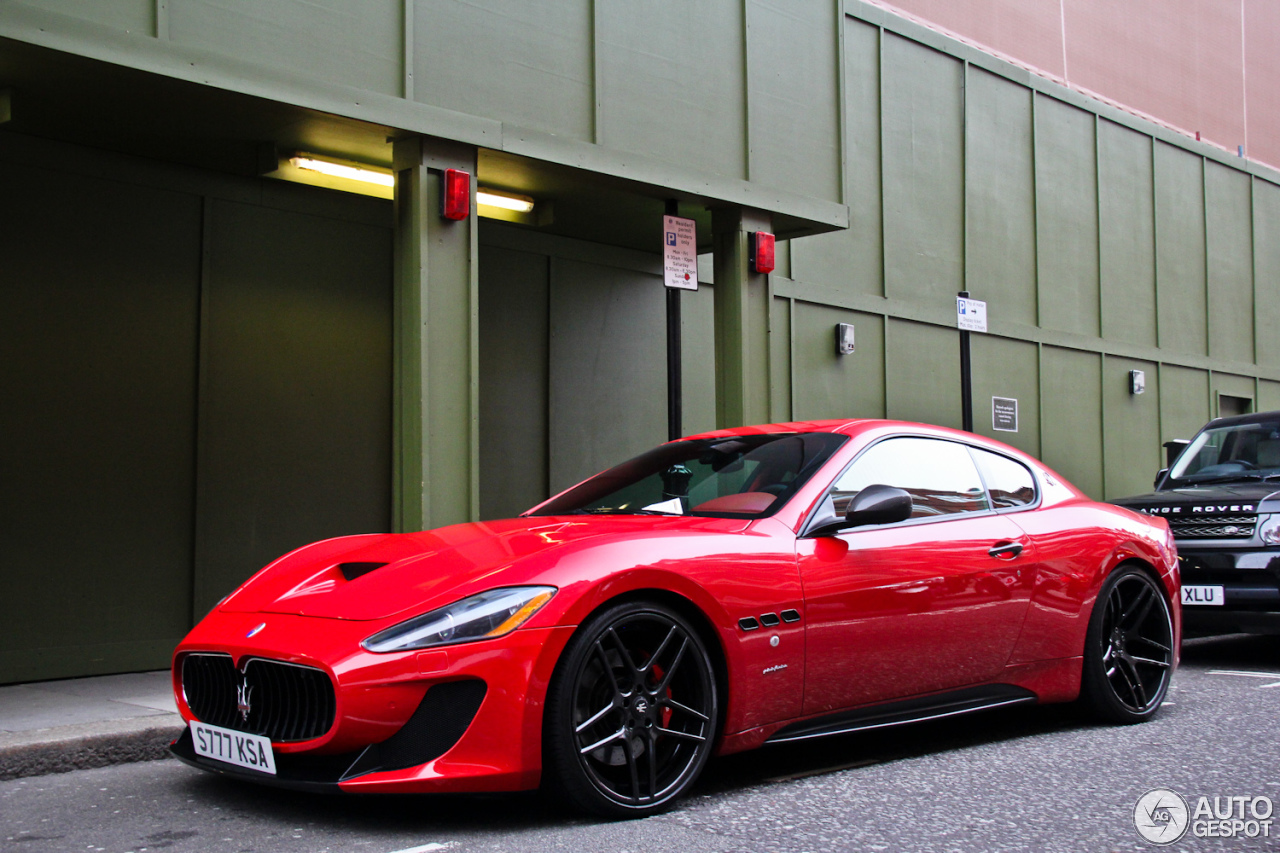 maserati granturismo s novitec tridente 30 janvier 2013 autogespot. Black Bedroom Furniture Sets. Home Design Ideas