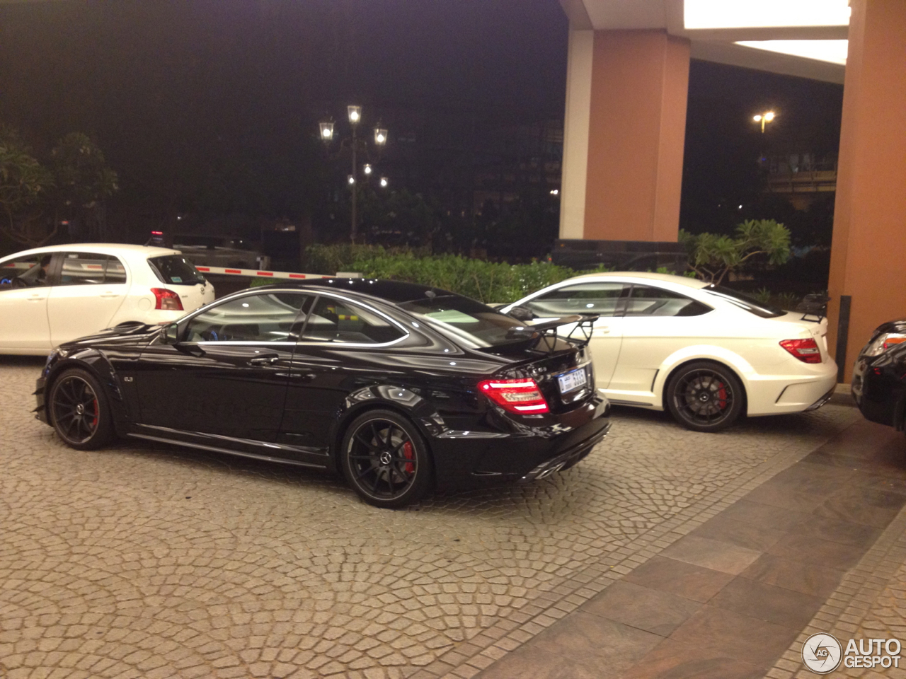 Mercedes benz c 63 amg coup black series 30 january for Mercedes benz 3 series