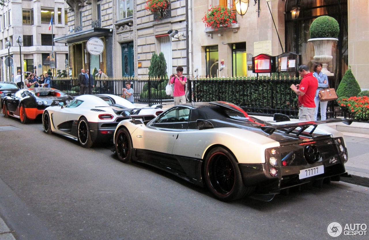 Pagani Huayra For Sale >> Pagani Zonda Cinque Roadster - 1 February 2013 - Autogespot