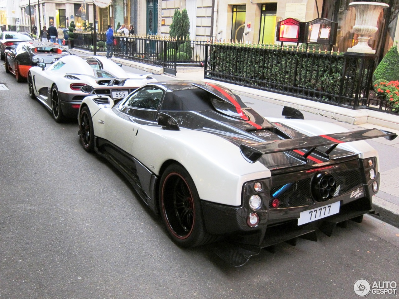 Pagani Zonda Cinque Roadster - 1 February 2013 - Auspot
