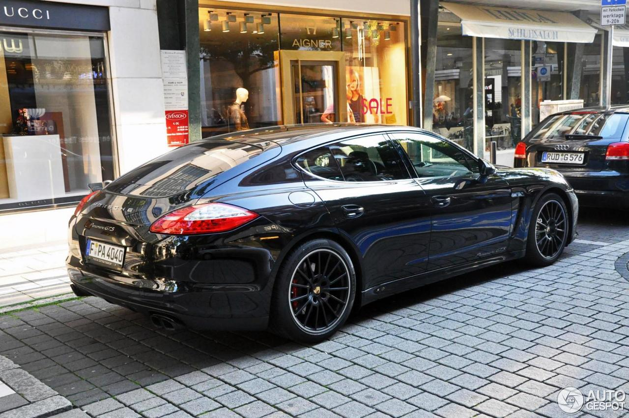 porsche panamera gts 1 february 2013 autogespot. Black Bedroom Furniture Sets. Home Design Ideas