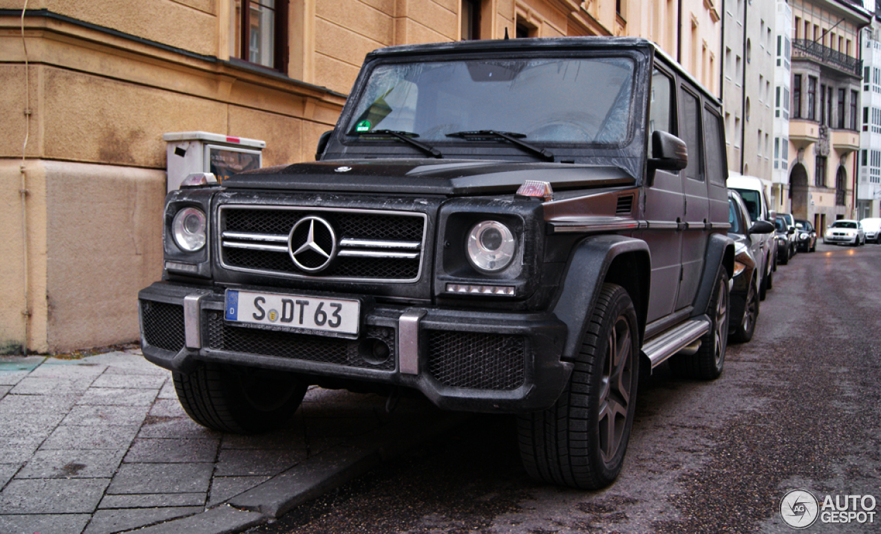 Mercedes-Benz G 63 AMG 2012 - 4         2013 - Autogespot