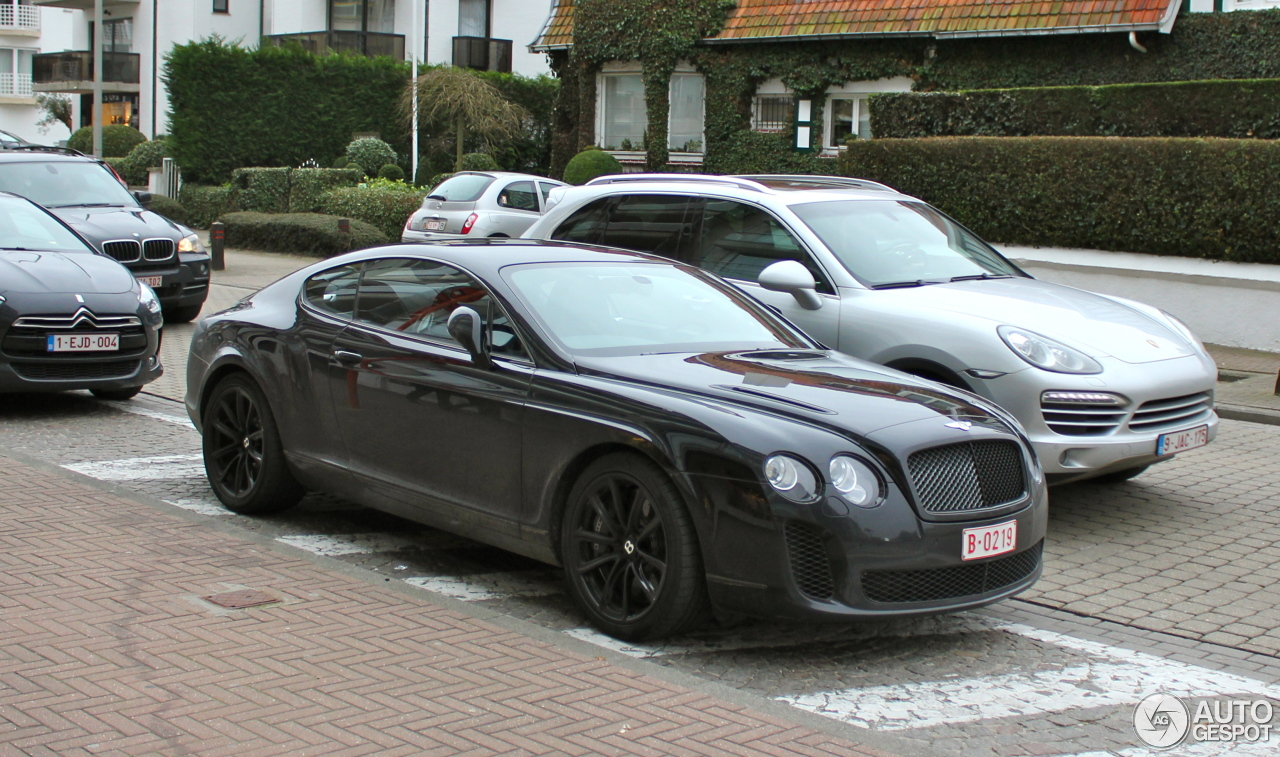 bentley continental supersports coup 13 february 2013 autogespot. Cars Review. Best American Auto & Cars Review