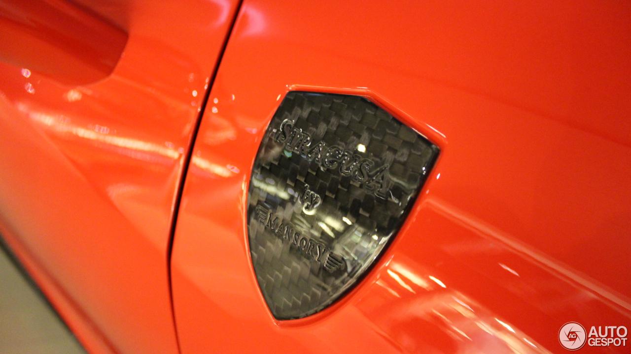 Ferrari 458 Italia Mansory Siracusa 8