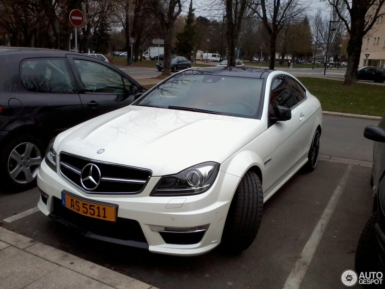 Mercedes benz c 63 amg coup 22 fvrier 2013 autogespot for Mercedes benz raleigh nc sale