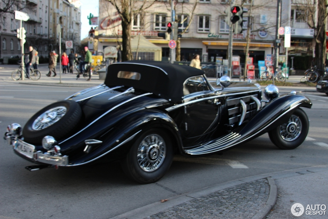 Mercedes Benz 540k Special Roadster 24 February 2013 Autogespot