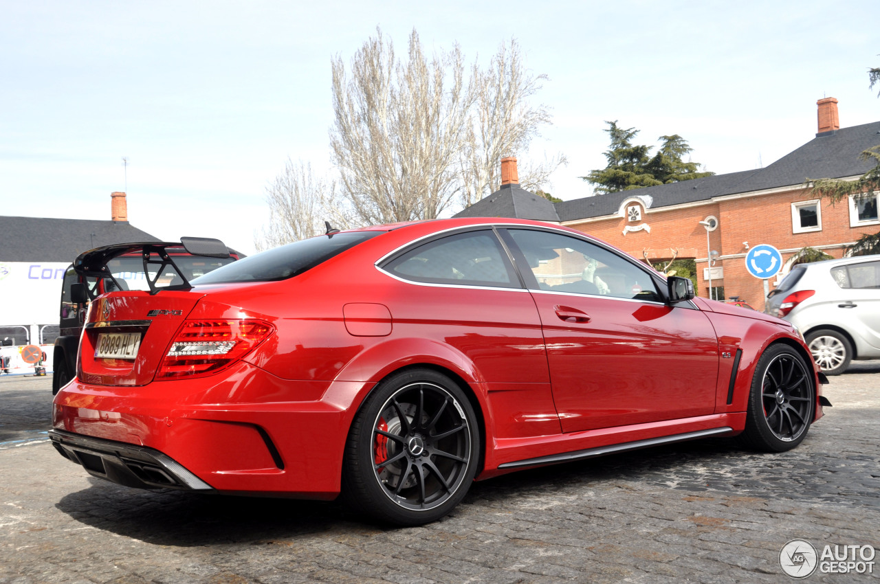 Mercedes Benz C 63 Amg Coup 233 Black Series 3 Mrz 2013