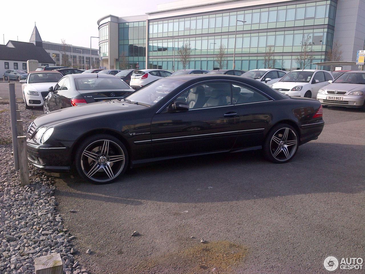 Mercedes benz cl 55 amg c215 4 march 2013 autogespot for Mercedes benz cl 55 amg
