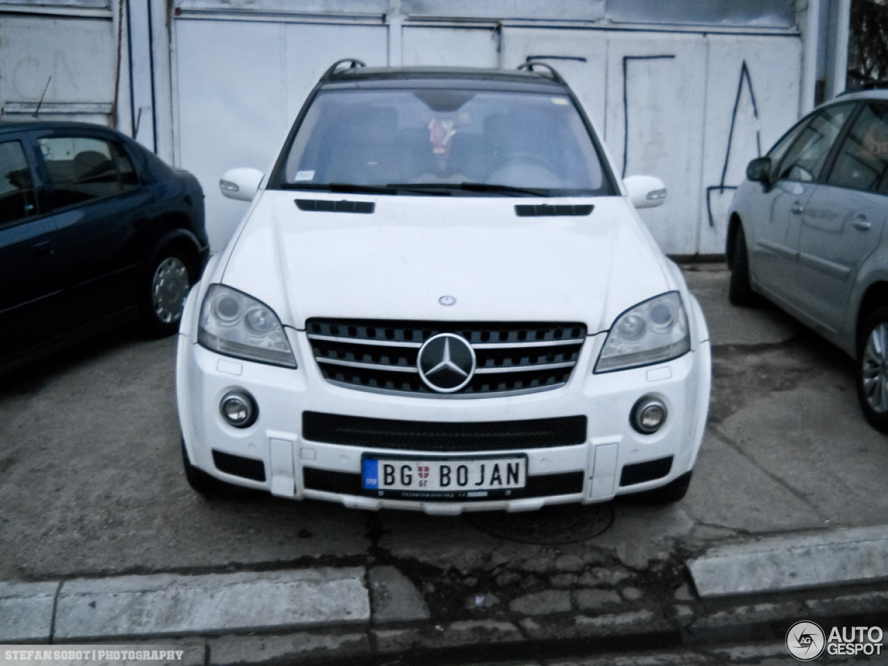 Mercedes benz ml 63 amg w164 4 march 2013 autogespot for Mercedes benz w164