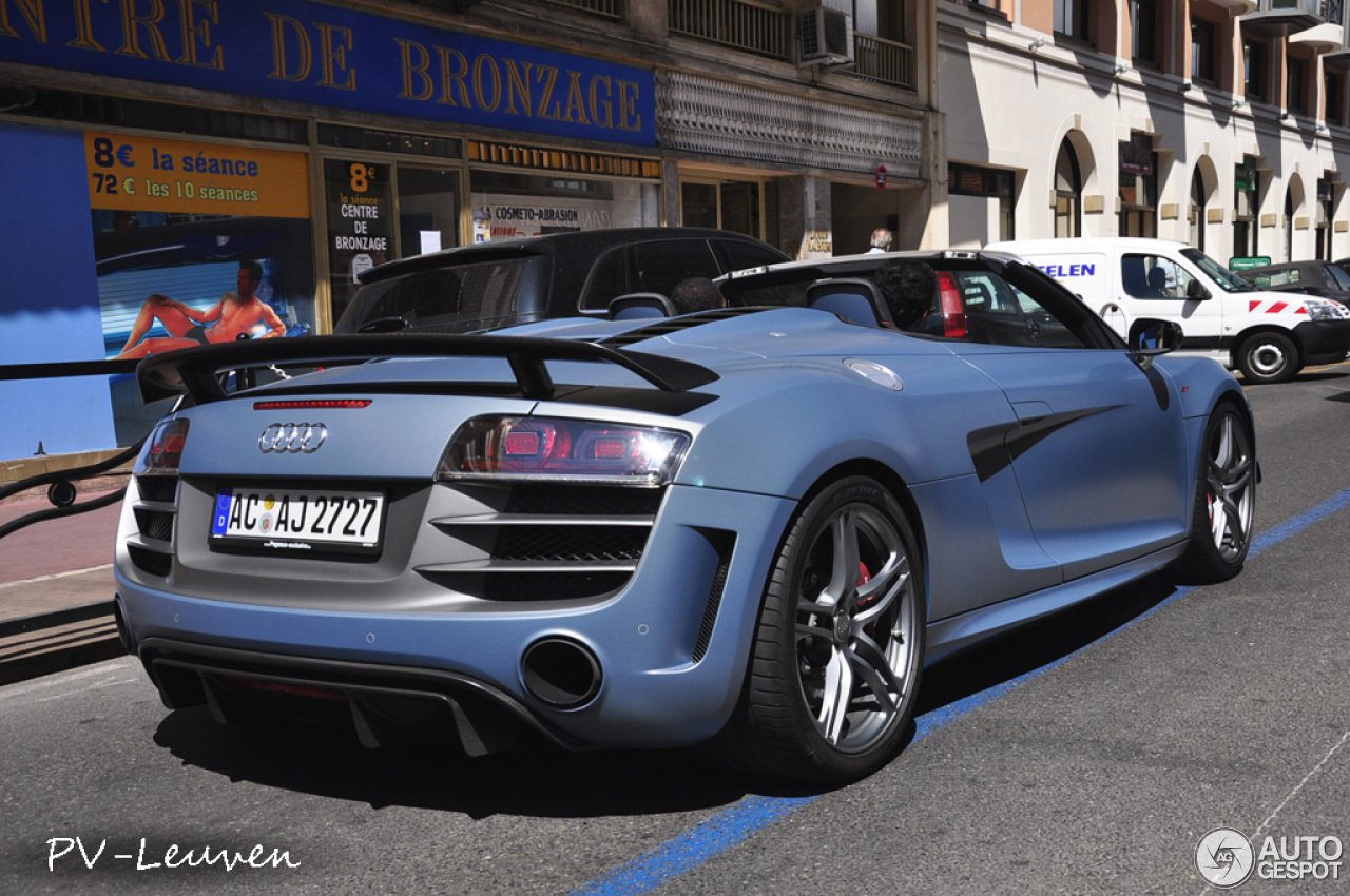 audi r8 gt spyder 7 mars 2013 autogespot. Black Bedroom Furniture Sets. Home Design Ideas