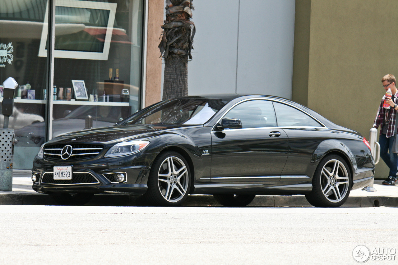 mercedes benz cl 65 amg c216 7 march 2013 autogespot. Black Bedroom Furniture Sets. Home Design Ideas