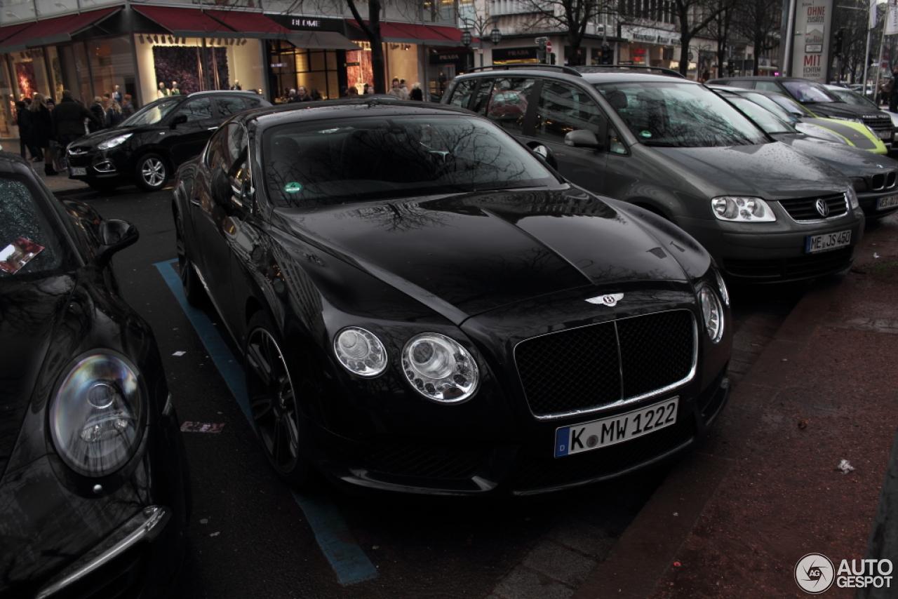 Bentley Continental Gt V8 10 Mrz 2013 Autogespot
