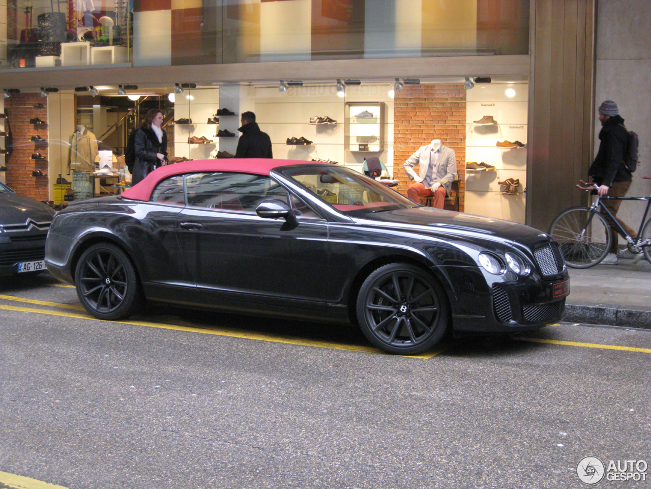 bentley continental supersports convertible 10 march 2013. Cars Review. Best American Auto & Cars Review