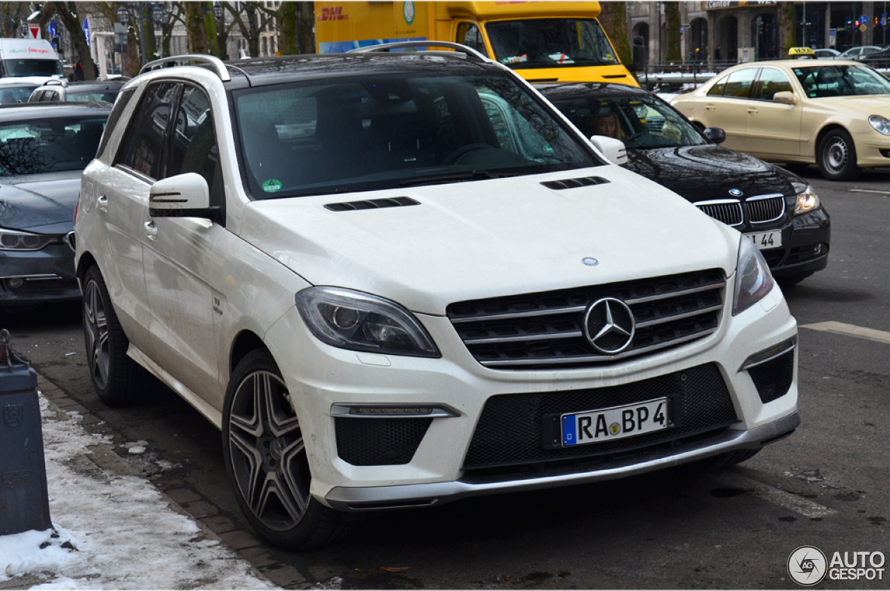 Mercedes Benz Ml 63 Amg W166 12 March 2013 Autogespot