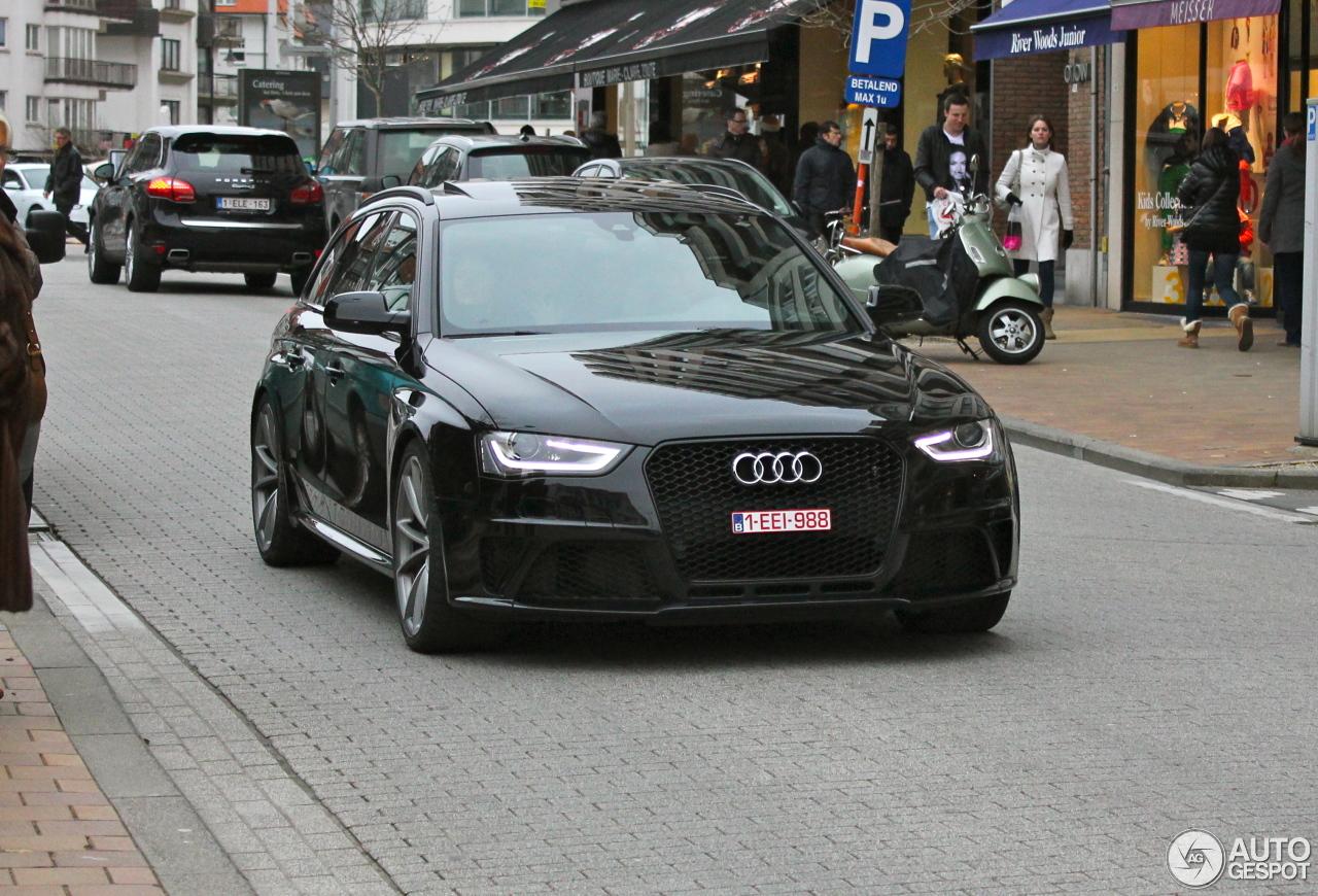 Audi rs4 avant 2013 acceleration 6