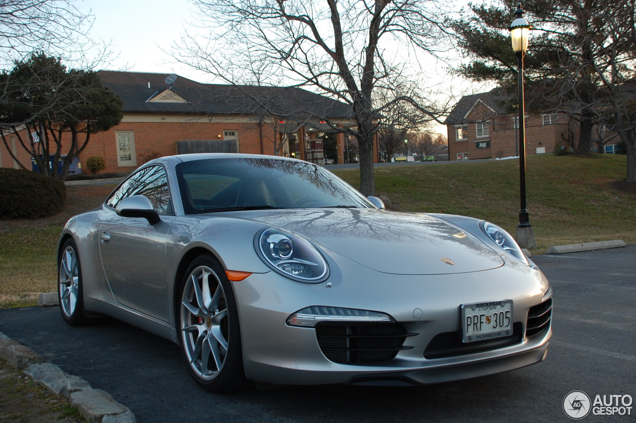 Porsche 991 Carrera S  14 March 2013  Autogespot