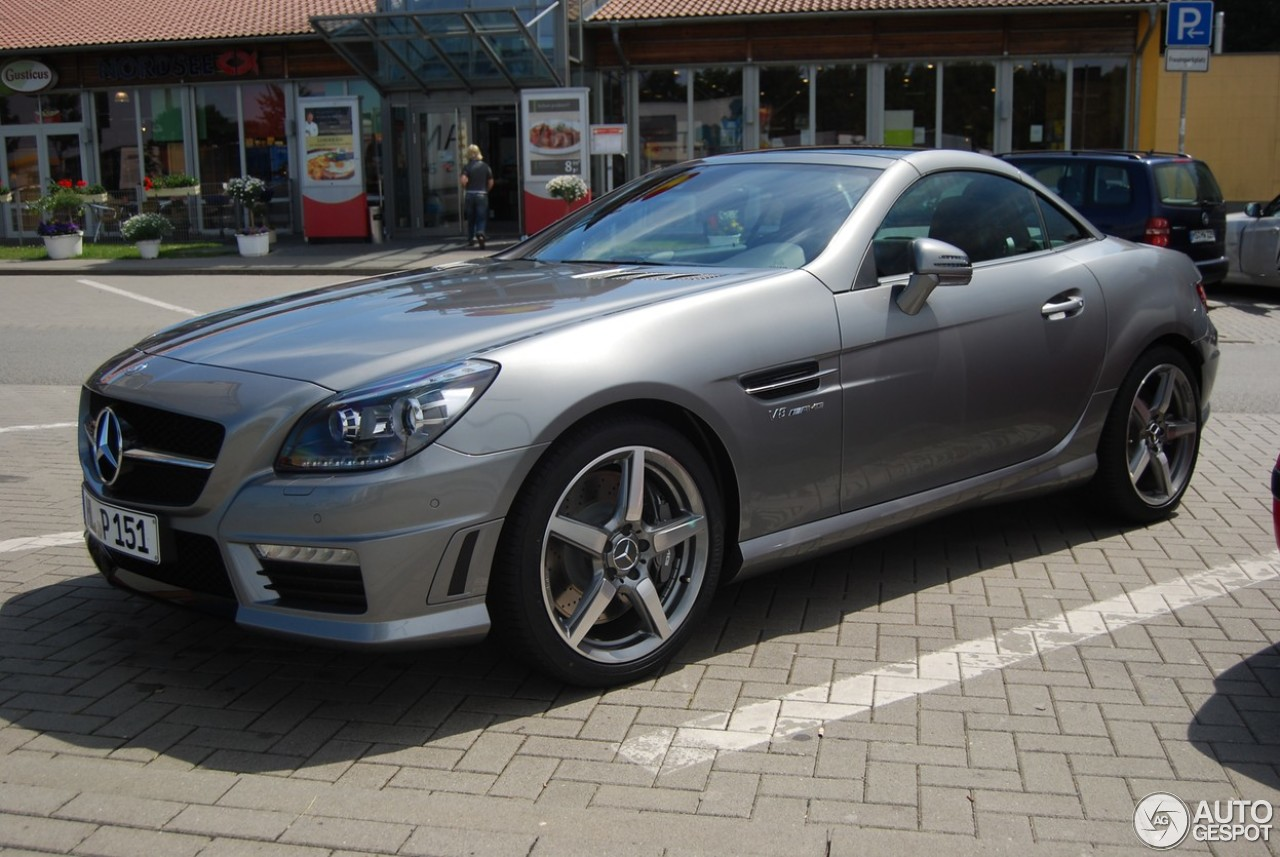 Mercedes benz slk 55 amg r172 15 mrz 2013 autogespot for 2013 mercedes benz slk 250 price