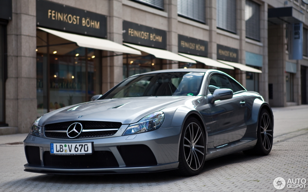 Mercedes Benz Sl 65 Amg Black Series 16 Mrz 2013 Autogespot