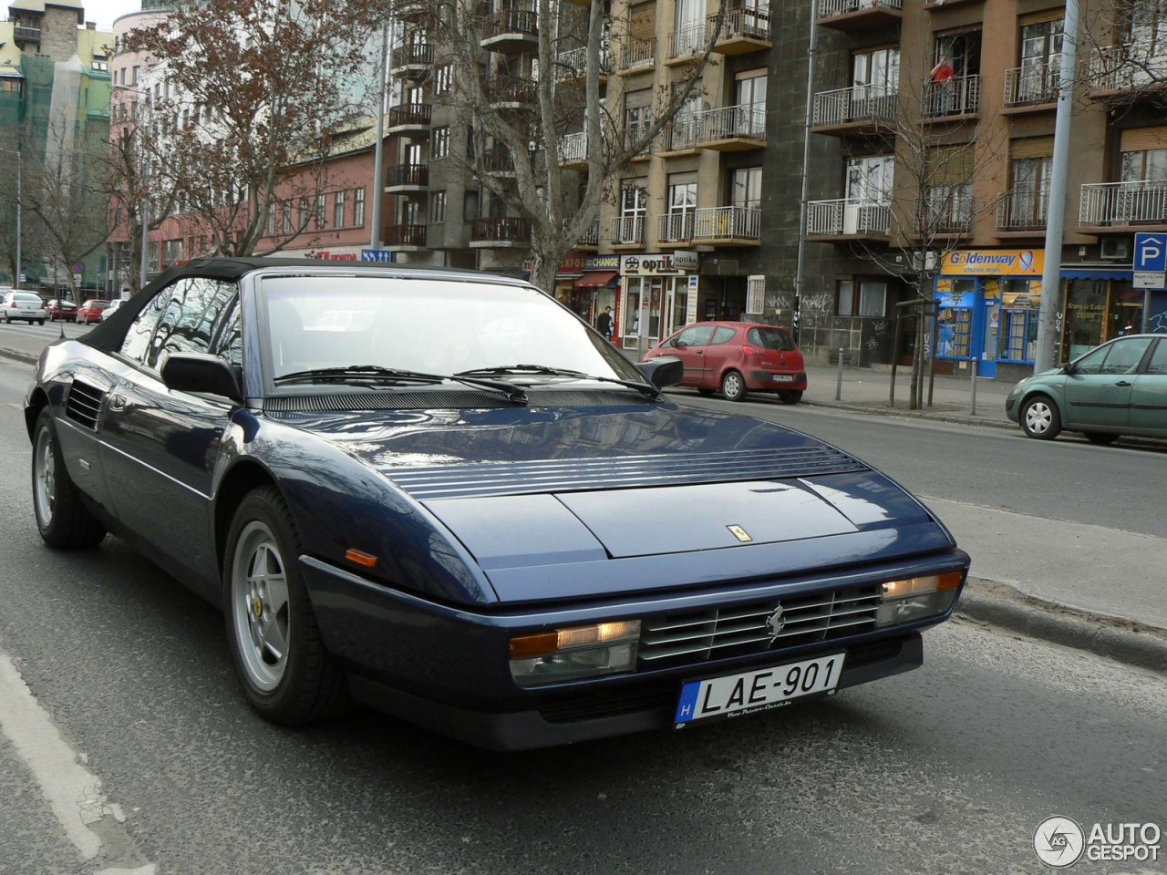 ferrari mondial t cabriolet 19 march 2013 autogespot. Black Bedroom Furniture Sets. Home Design Ideas