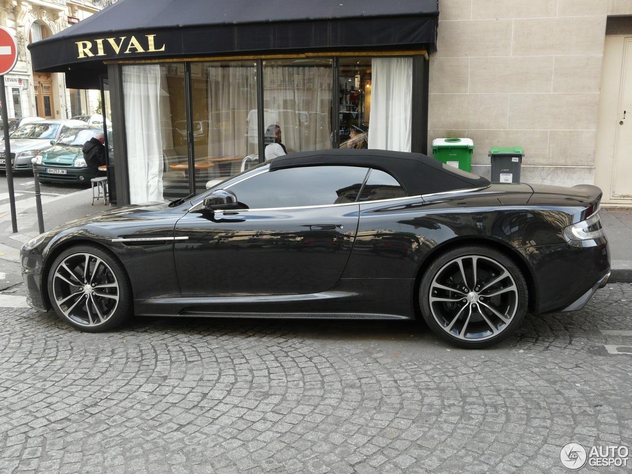Aston Martin Dbs Volante Carbon Black Edition 20 March