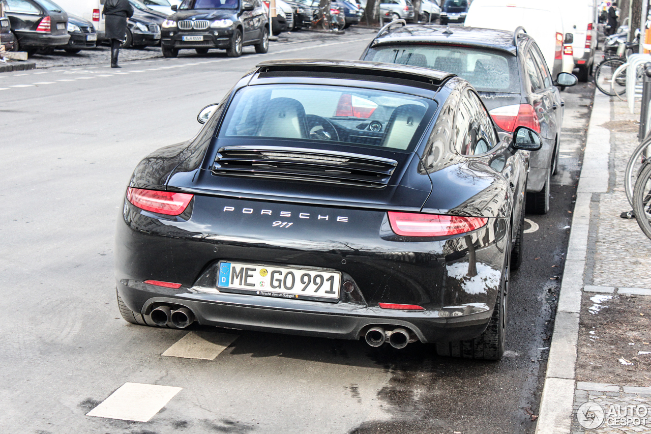 Porsche 991 Carrera S  20 March 2013  Autogespot