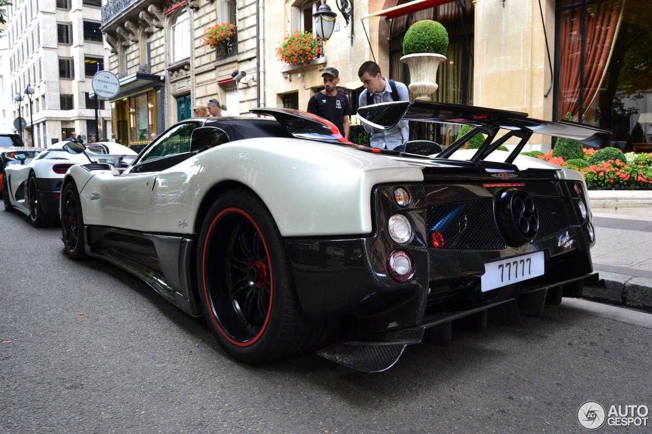 Pagani Zonda Cinque Roadster - 21 March 2013 - Auspot