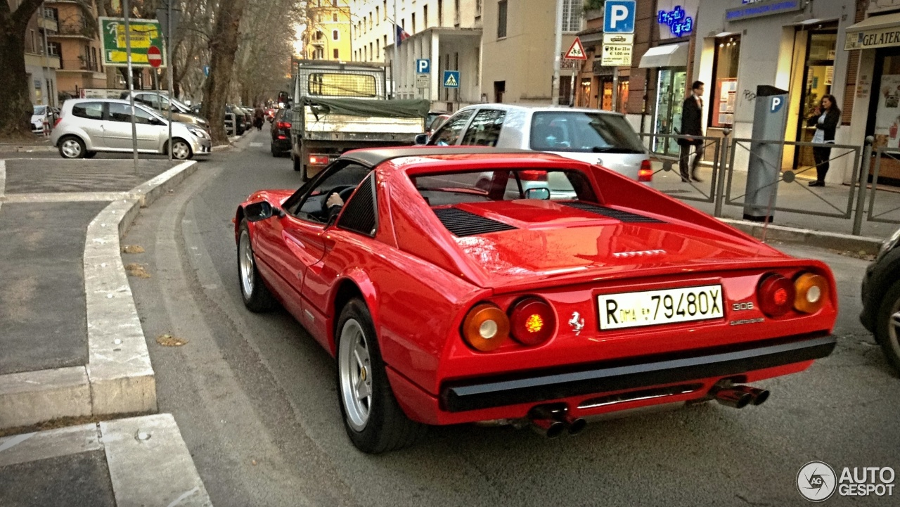 Ferrari 308 Gts Quattrovalvole 23 Mars 2013 Autogespot