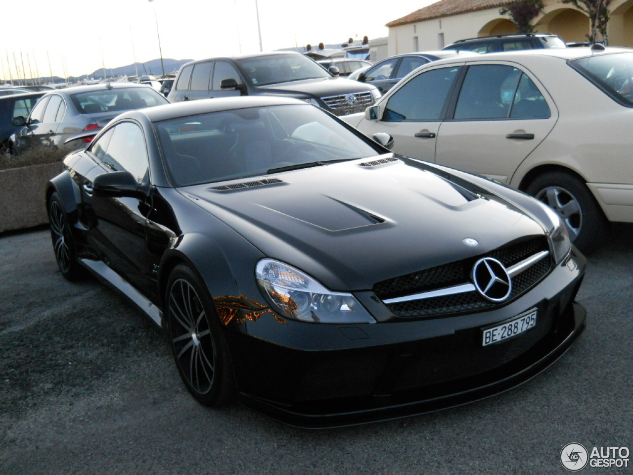 Mercedes benz sl 65 amg black series 24 march 2013 for Mercedes benz sl65 amg black series price