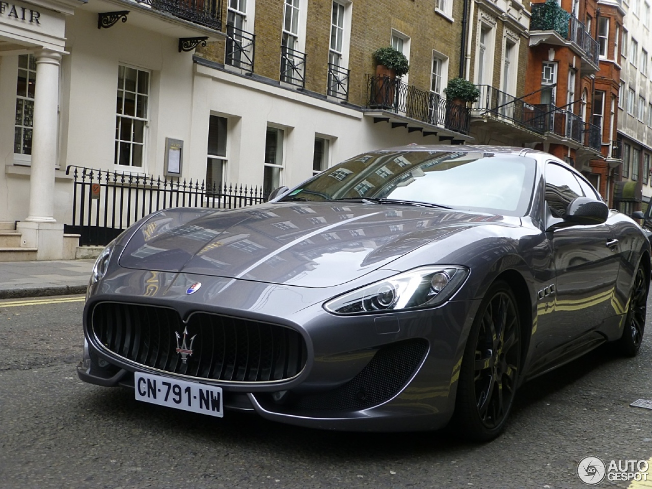 maserati granturismo sport 25 march 2013 autogespot. Black Bedroom Furniture Sets. Home Design Ideas