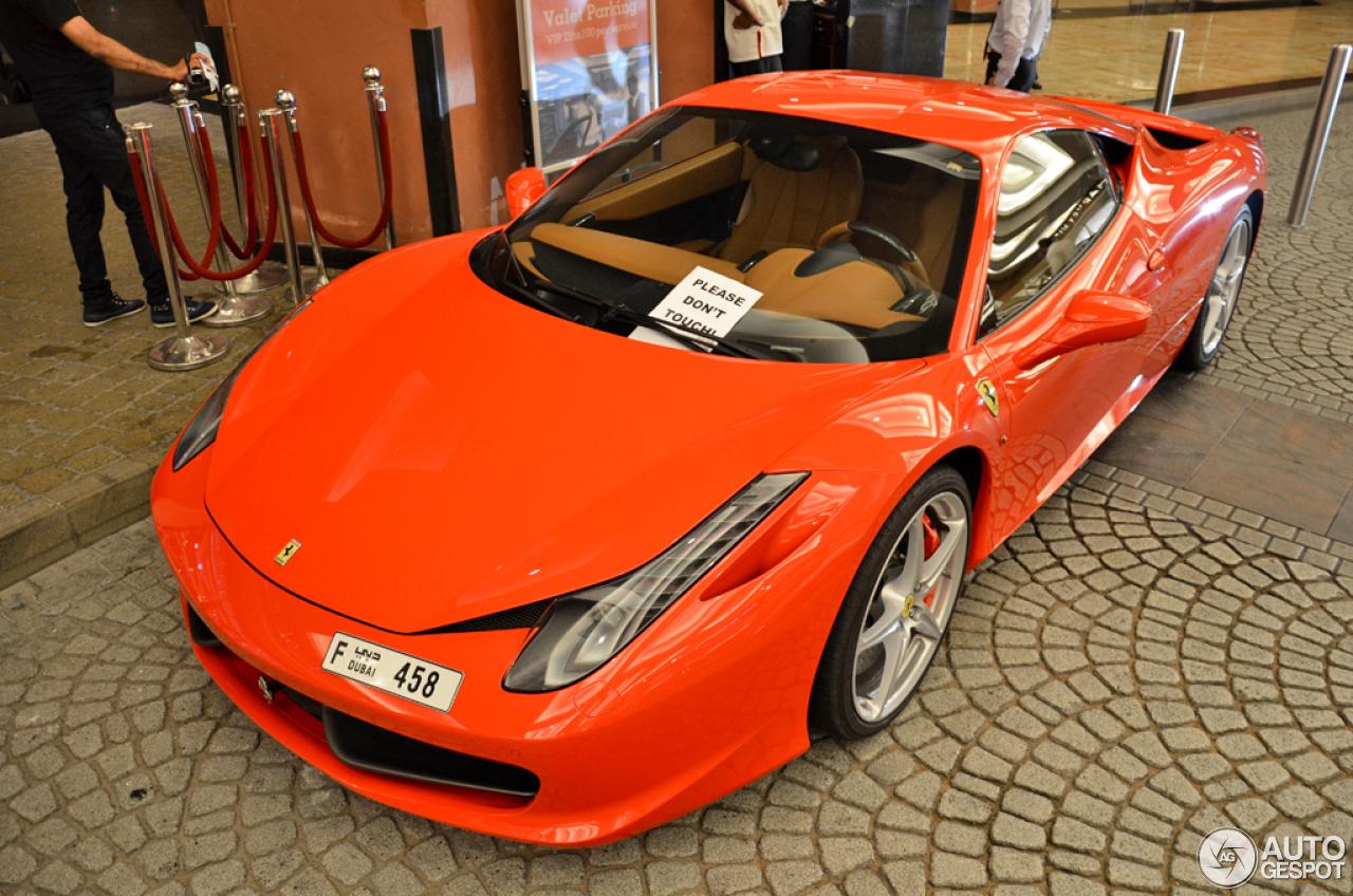 Ferrari 458 Italia 3