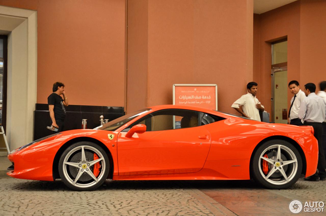 Ferrari 458 Italia 5