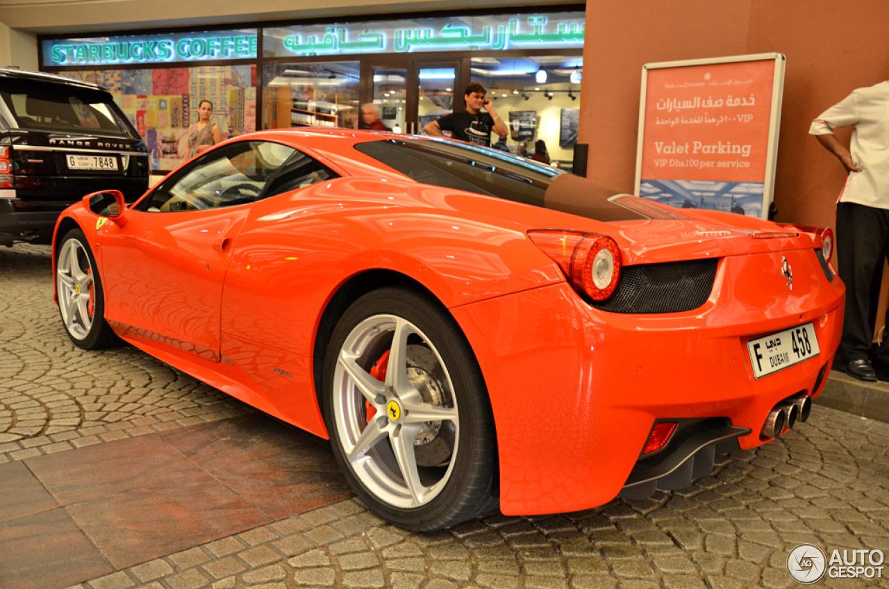 Ferrari 458 Italia 7