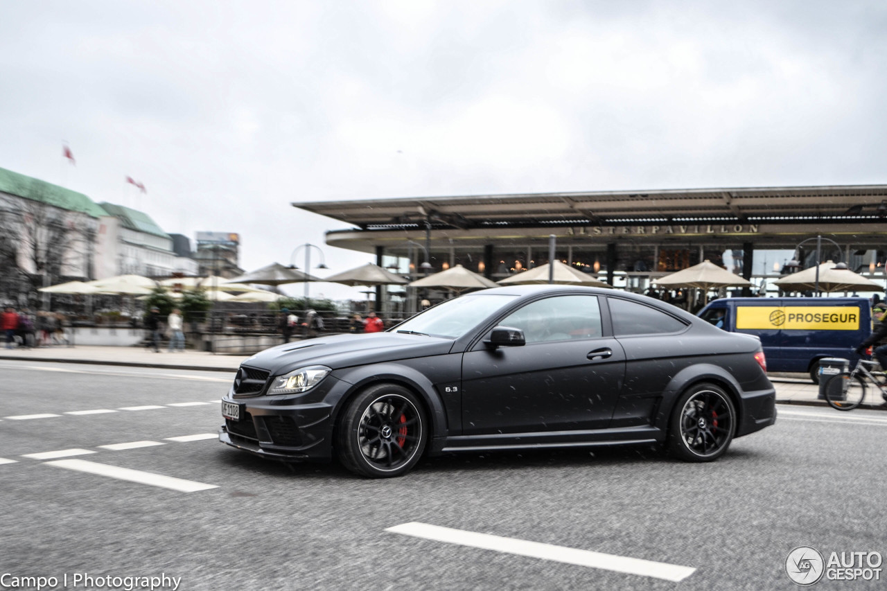 Mercedes benz c 63 amg coup black series 26 march 2013 for Mercedes benz coupe 2013