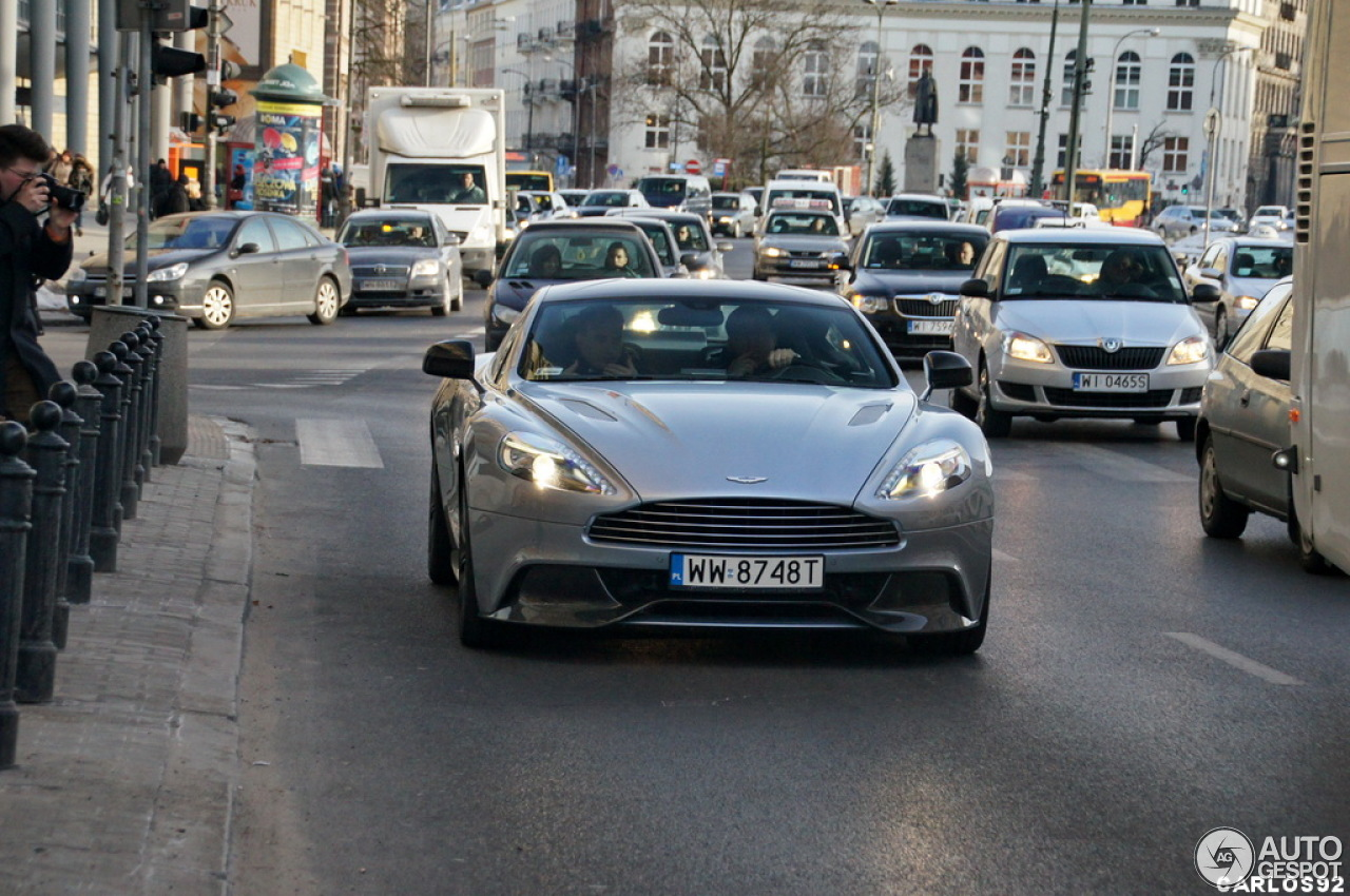 Aston Martin Vanquish 2013 2